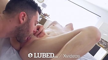 LUBED Oiled up blonde - FEEL EVERY INCH