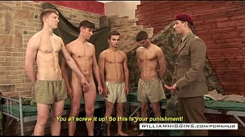 gay male military wank