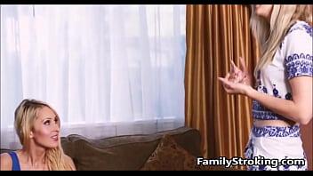 Step Mom Teaches Teen Daughter - FamilyStroking.com