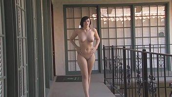 Risky public nudity