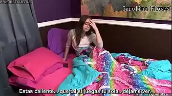 """Carolina Flores /Hermano se folla a su hermana menor... Si quieres ver las 4 partes del video en full HD, entra al link """"http://aclabink.com/HAe"""""""
