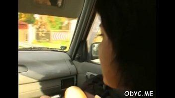Shlong riding by a dirty-minded elegant Suzie