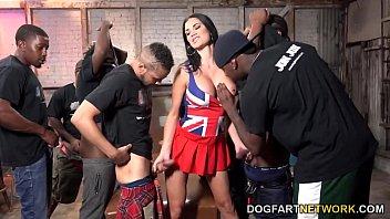 Jasmine Jae Gets Fucked And Bukkaked By Black Men