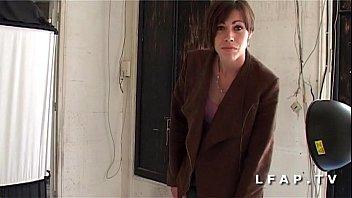etudiante francaise salope belle brune sodomisee