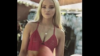 Dove Cameron cum on titties