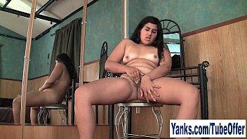 Pierced Amateur Girl Miel Fingering Her Pussy