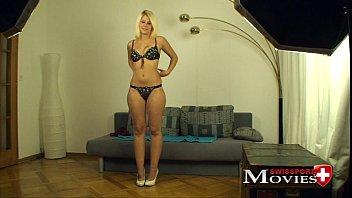 Masturbation porn movie with student Emilia 20y in Z&uuml_rich