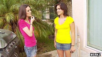WANKZ- Lesbian Whore Tricked into Banging