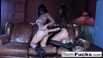 Romi hot lesbian sex