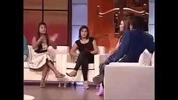 Fight In Raakhi Saawant Show (full Maa Behen)