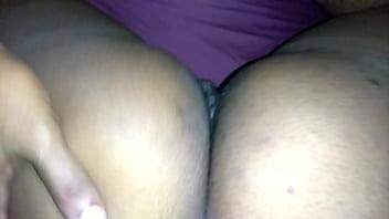 Quick ebony  backshots