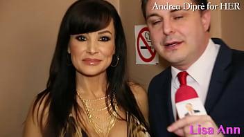 Lisa Ann: porn meeting with Andrea Diprè!
