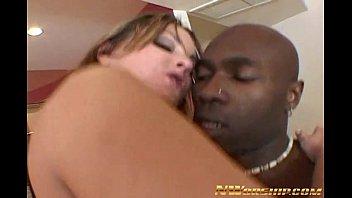 big ass sexy slut interracial creampie anal fuck