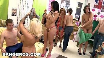 BANGBROS - Dorm Invasion with Diamond Kitty, Lylith Lavey & Anastasia Morna