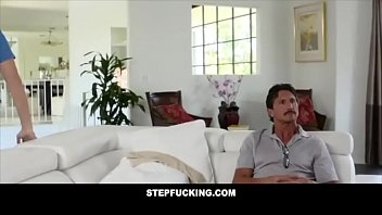 Step brother caught cumming on step sister'_s face- STEPFUCKING.COM