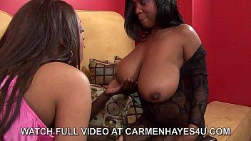 Carmen Hayes , Nathan Threat  &_ Maserati 3 Way!!
