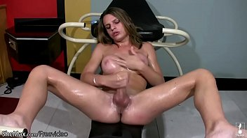 Tranny girl with large tits acquires nailed