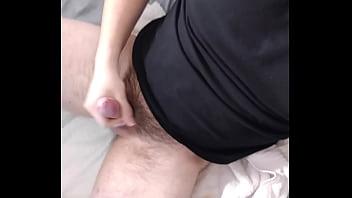 Cumming on myself