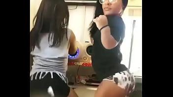 two sexy latina midgets