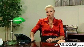 Office Slut Girl (rhylee richards) With Big Tits Love Hard Bang clip-27