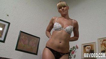 Firm bodied German babe masturbating