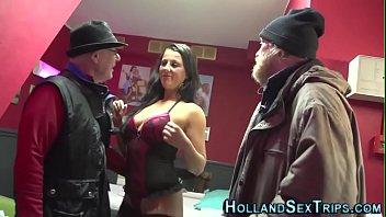 Prostitute gets fingered