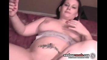 Chubby brunette amateur homemade sex