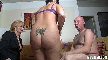 Mature german whores fucking a bald guy
