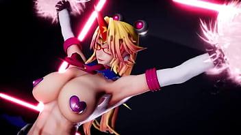 MMD Yuugi Hoshiguma Cosplay sex