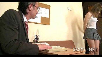 Русский секс с русской молодой училкой