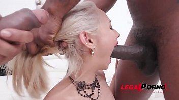 Veronica Leal interracial anal and Airtight DP SZ2110