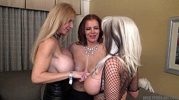 Very HOT Cougars Threesome - Nicky Ferrari Brooke Tyler Sally Dangelo Bombshell