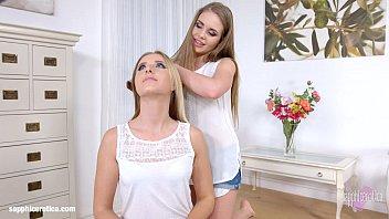 Aria Logan and Alessandra Jane in lesbian scene by Sapphic Erotica Thumb