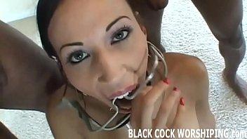 I finally get to fulfill my big black cock fantasy