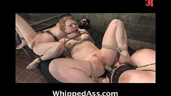 Crazy BDSM lesbian scene