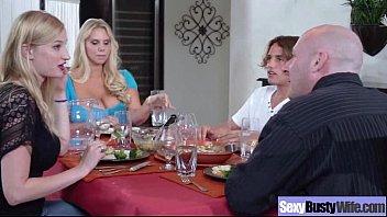 (karen fisher) Busty Hot Mature Housewife Get Sluty In Hard Sex Scene mov-16