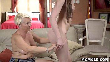 I lick a mature asshole! - Bibi Pink and Monika Wild