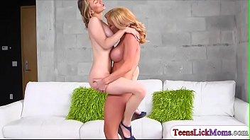 Molly Mae fucking with a lesbian milf