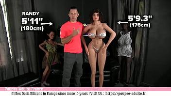 Vidéos de poupée de sexe de silicone