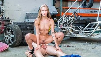 LETSDOEIT - Sexy Blonde Gets Banged Hardcore By Lucky Stud (Tiffany Tatum)