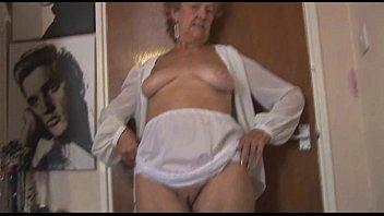 panty tease Granny
