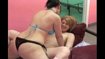 girls have strap-on fun