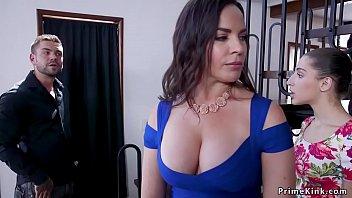 Huge tits Milf rides relatives huge dick