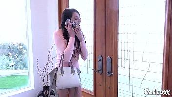 Megan Sage Walks Into Her Stepbrother Masturbating   Video Make Love