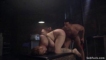 Huge tits Milf intern anal banged