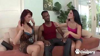 Nicki Hunter &amp_ Lola Foxx Drain A Ghetto Cock