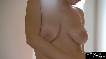 NF Busty - Big Tit Blonde Fucks Roommates Huge Cock