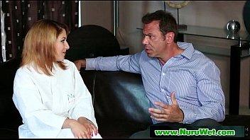 Slippery Sensual Nuru Massage And Dick Rubbing 03