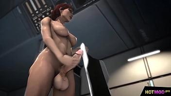 She Male fucks Girl - 3D Futa Creampie