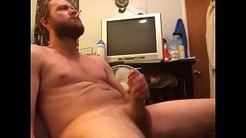 Hot cock jerking